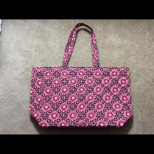 Vera Bradley Performance Twill Grand Tote NWT